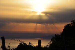 Simone Riolfo - nuvole al tramonto.sito